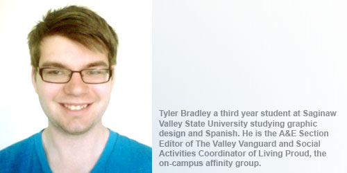 Tyler Bradley. By Crystal A. Proxmire. Originally printed 6/21/2012 (Issue ...
