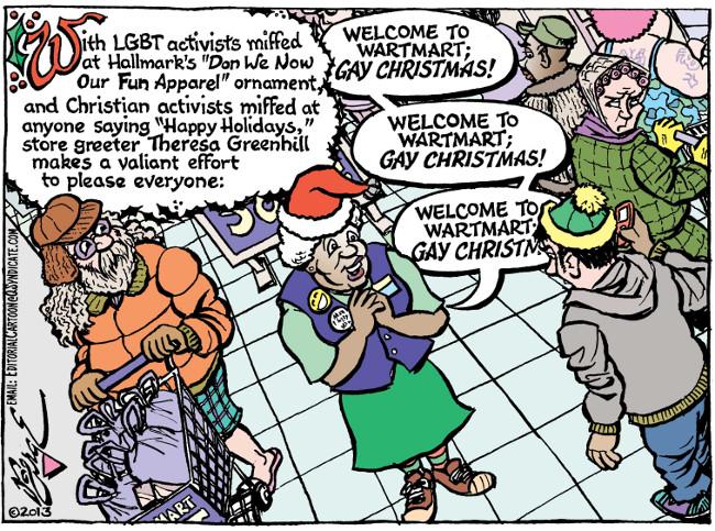 Gay christmas comic